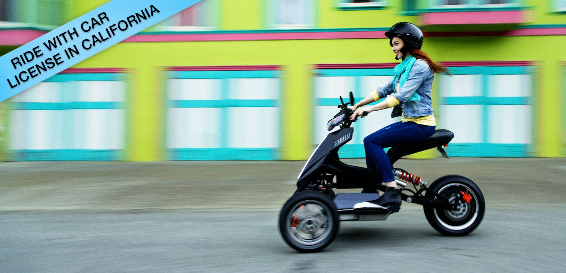 Motor scooter license requirements california for Do you need a license for a motorized bicycle
